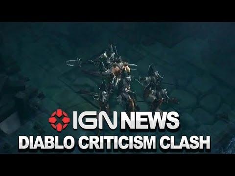 IGN News - David Brevik And Blizzard Devs Clash Over Diablo III Criticism