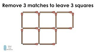 Can You Solve These Matchstick Puzzles?