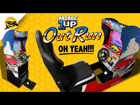 Arcade 1up OutRun Racing Cabinet - OH YEAH!!! from FishBee Productions