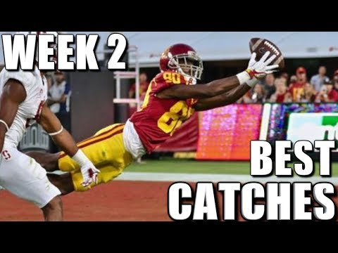Best Catches of Week 2 of the 2017 College Football Season
