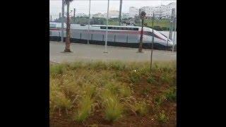 """التجارب الأولى ل """"تي جي في"""" المغرب في طنجة - Train grande vitesse au tanger maroc"""