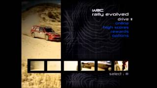 WRC Rally Evolved Soundtrack - Main Menu