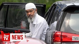 Zakir back in Bukit Aman over police report he lodged