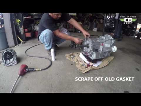 4WD Transmission Conversion