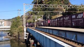 Repeat youtube video 2013.12.7 鹿児島駅での貨物列車脱線事故の瞬間