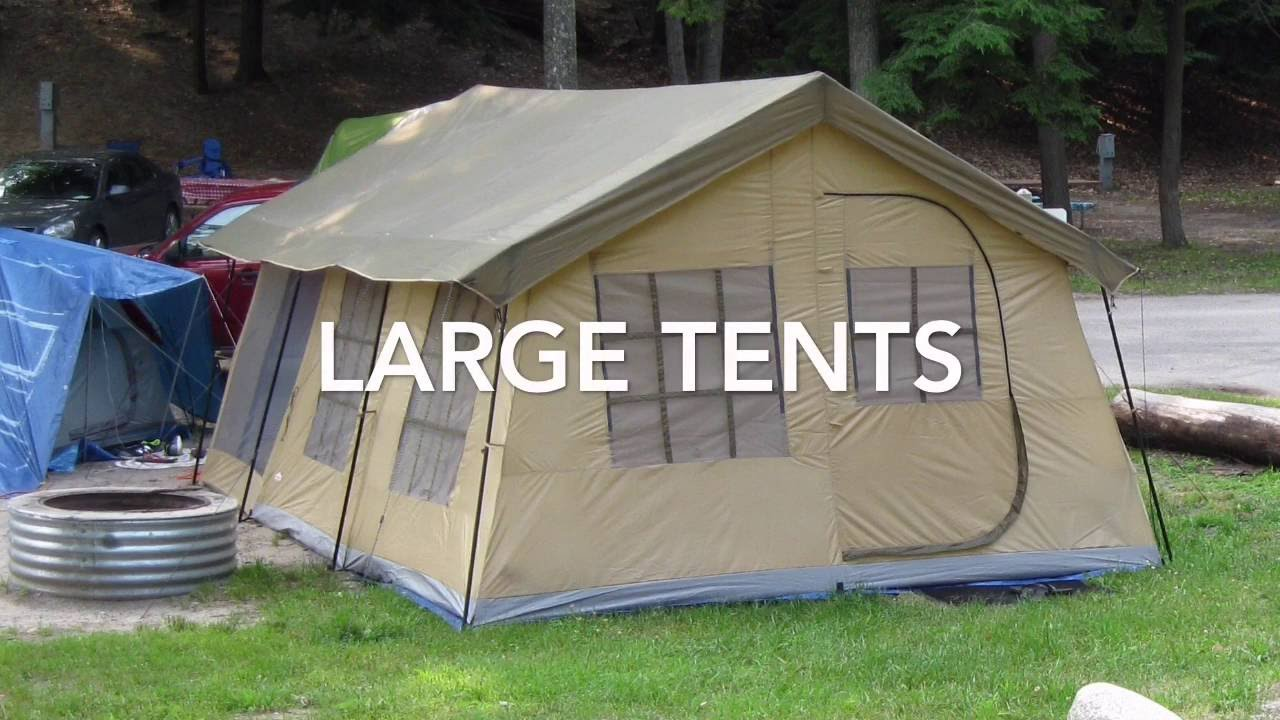 & Large Tents - YouTube