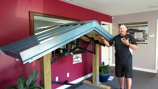 STEEL TRUSSES What Comes In Roof Kit EXPLAINED