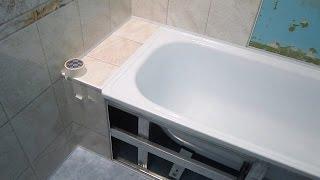 Неприятности с пластиковыми панелями при отделке стен ванной комнаты. Брак при ремонте в ванной