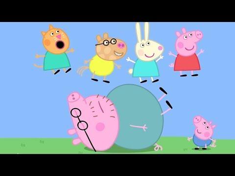 Свинка Пеппа на русском все серии подряд | Детская площадка | Мультики