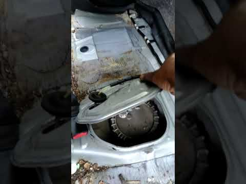 Removing the fuel pump on a 2008 Scion xB