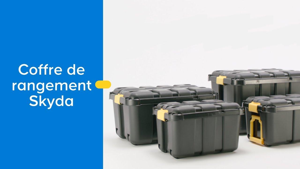 Coffre De Rangement En Plastique Skyda Castorama Youtube