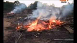 RTI - Djékanou: démolition des sites d`orpailleurs clandestins