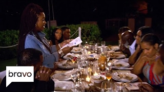 RHOA: Kandi Burruss Shares Her Texts with Porsha Williams (Season 9, Episode 15) | Bravo
