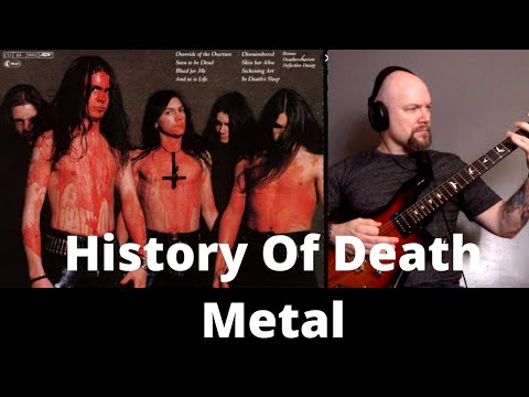 History Of Death Metal On Guitar - 1985 - 1990