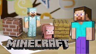 Minecraft, Papercraft