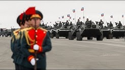 Ostukraine-Konflikt: Militärparade in Luhansk und Proteste in Kiew