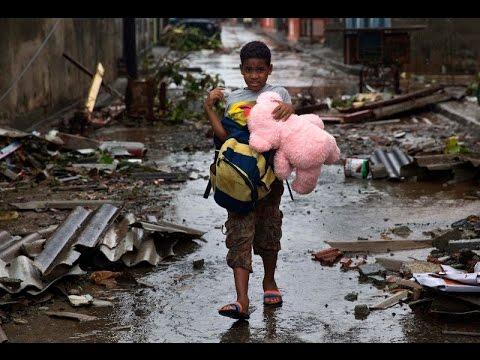 Baracoa devastada tras el paso del huracán Matthew por Cuba