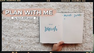 Guys i figured it out. this is the easiest, simplest, fastest bullet journal spread ever. so excited to share my setup for march 2020 and prov...