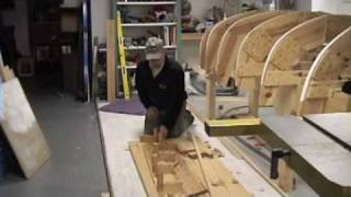 Herreshoff Keel Steam Bending