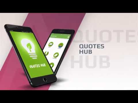 Quotes Hub Inspiration Quotes Hub Android App Promotional Video By Eyelash Technologies