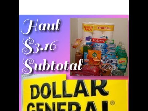 Dollar General Couponing Haul --What Digital Coupons Are Working