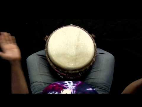 How to play the Lamban Rhythm - Djembe Pattern #1 - World Beat 101