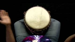 How to play the Lamban Rhythm - Djembe Pattern #1 - World Beat 101