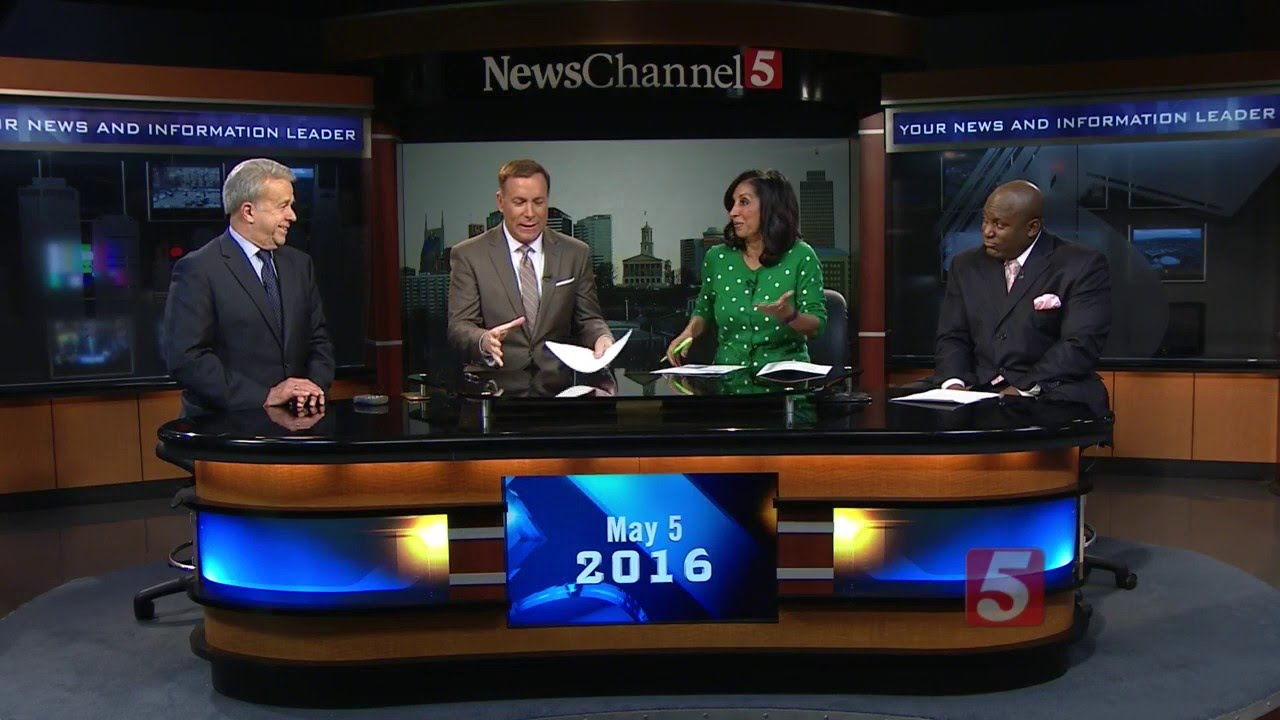 NewsChannel 5 Team Loses It Over Edible KFC Nail Polish - YouTube