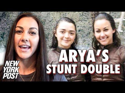 Meet The Game Of Thrones Stunt Double Who Does Arya Stark's Stunts | New York Post