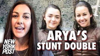 Meet the Game of Thrones Stunt Double Who Does Arya Stark's Stunts | New York Post