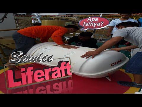LSA Onboard │ WHAT's Inside Liferaft? - Inspeksi & Maintenance INFLATABLE LIFERAFT di Kapal
