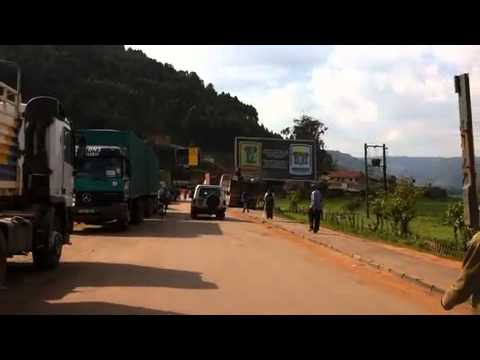 RUANDA BORDER! TRAVEL