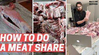 How to Do a MEAT SHARE // Matt the Butcher