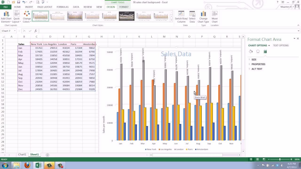 also how to add data labels your excel chart in youtube rh