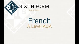 A Level French Induction