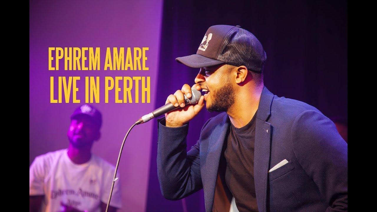 Ephrem Amare - Atiyo [Concert] in Perth, Australia - Lyrics CC Subtitle - Tigrinya