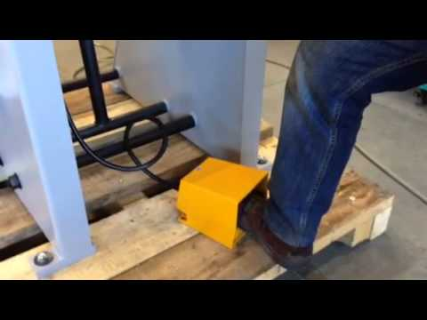 Fonctionnement de l'écran mobile sur une presse mécanique de 15t - Automatic vertical screen