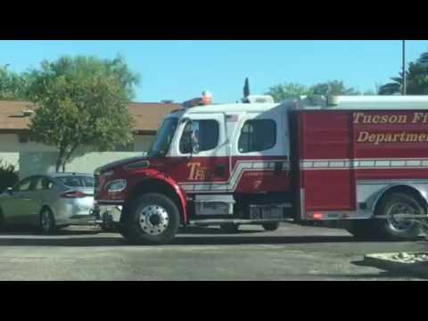 TFD Medic 47 and Ladder Tender 7 on scene
