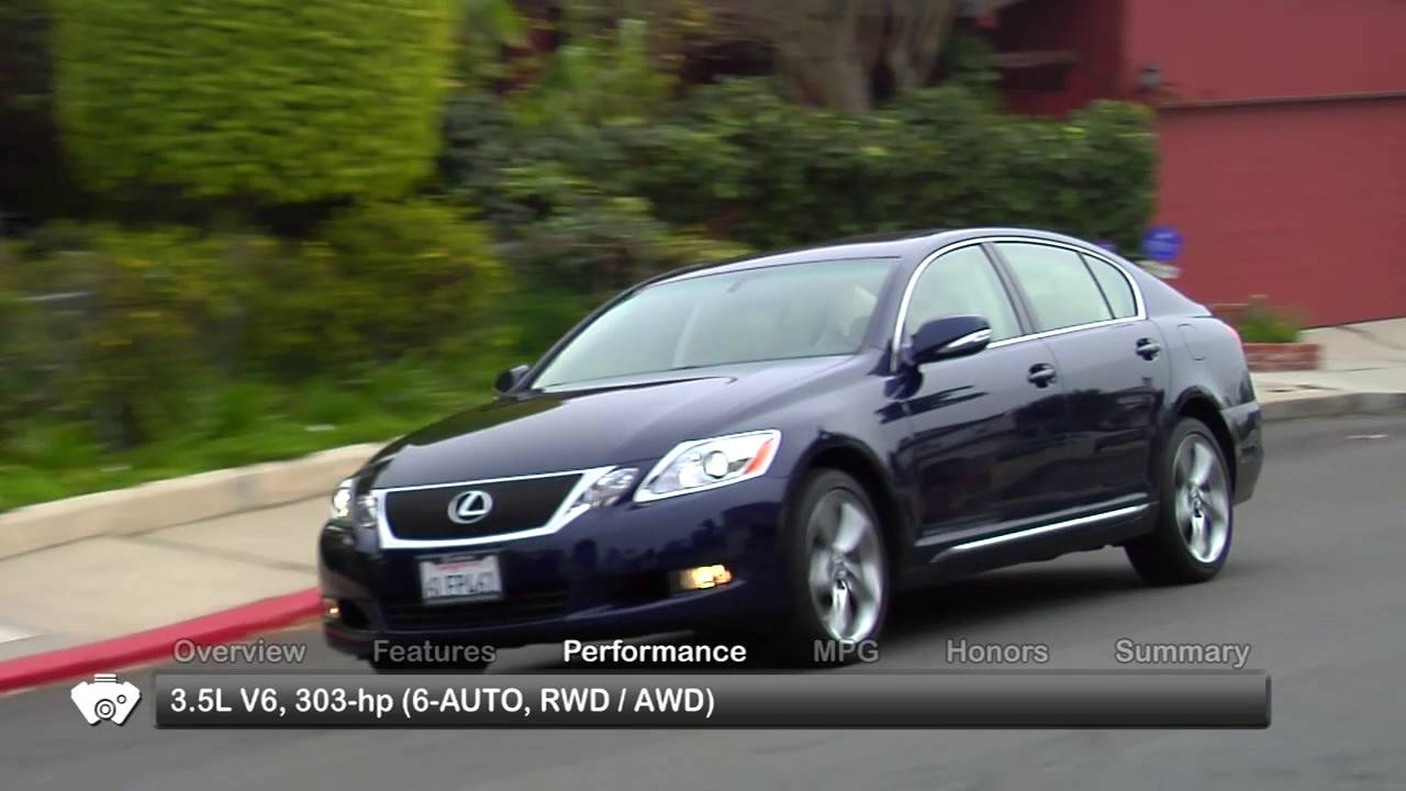 2010 Lexus GS 350-460 Used Car Report - YouTube