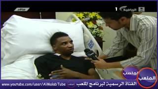 قائد الإتحاد محمد نور يعاتب حارس الأهلي ياسر المسيليم