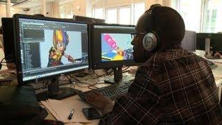 Le dibujos Animados, c'est moi: Francés, conquistar la película de dibujos Animados