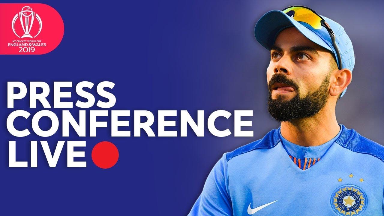 Post Match Press Conference India vs Australia | ICC Cricket World Cup 2019