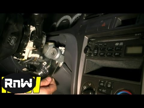 2003 Hyundai Santa Fe Ignition Wiring Diagram How To Remove And Replace An Ignition Lock Cylinder Youtube