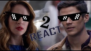 Snowbarry Shippers Reaction/Crack (+3x15)