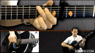 Aashiyan (Barfi) Guitar Lesson, Easy Version (COMPLETE)