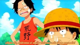 Promesa de Ace a Luffy de nunca morir HD 720p
