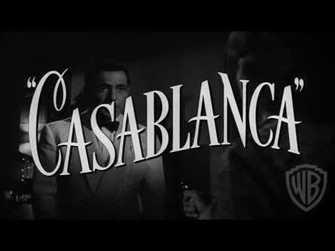Trailer do filme Casablanca