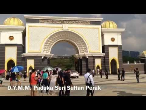 237th Conference of Rulers Motorcade Arrivals at National Palace, Kuala Lumpur, Malaysia
