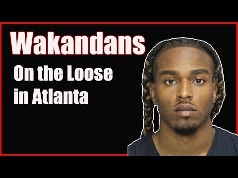Wakandans on the Loose in Atlanta