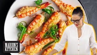Steamed Garlic Shrimp Chinese Restaurant Style - Marion&#39s Kitchen